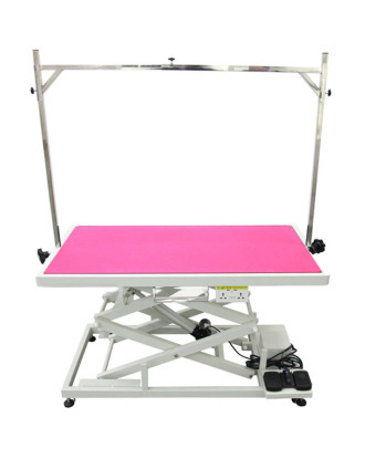 Blovi Upper Pro - Electric Grooming Table with Tool Shelf, Double Electric Socket & USB Port, 125cm x 65cm
