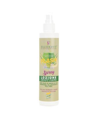 FluidoPet Flash Spray 200ml - skuteczny preparat przeciw insektom i owadom