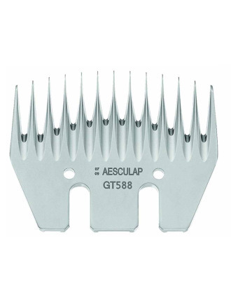 Aesculap GT588  - Lower Cutter Plate for Sheep Clippers, 13 Teeth/3,5mm