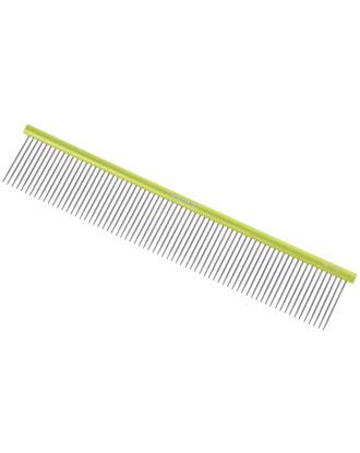 Madan Professional Ultra Light Comb 19cm - profesjonalny, bardzo lekki grzebień z aluminiowym uchwytem i średnim rozstawem ząbków, cienkie piny 2,9cm