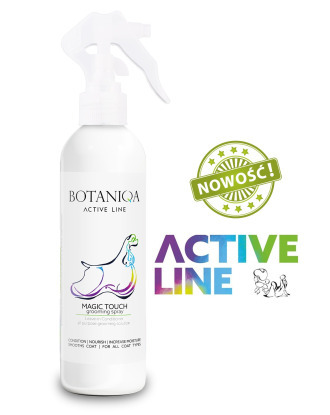 Botaniqa Active Line Magic Touch Grooming Spray 250ml - Detangles & Conditions