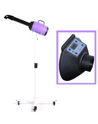 Blovi Canves 2200W Stand - Professional LCD Display Stand Pet Dryer, Purple