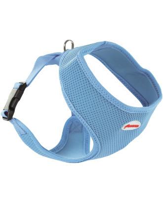 Record Fast Dog Harness Blue - lekkie i wygodne szelki z przewiewną siatką, niebieskie