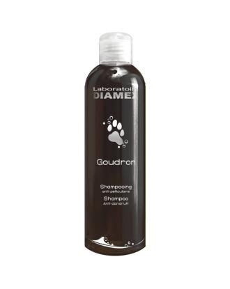 Diamex Gourdon - przeciwłupieżowy szampon dziegciowy z proteinami pszenicy, koncentrat 1:8